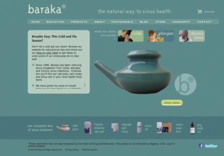Baraka Neti Pots-Homepage